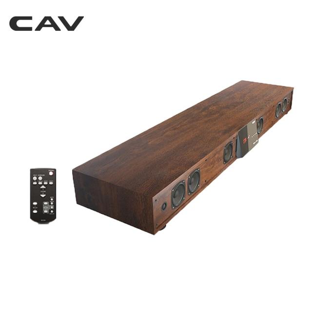 CAV TM1200A Bluetooth Soundbar TV Home Theater Surround Sound Soundbar Subwoofer Speaker Wireless Column DTS Base With Amplifier