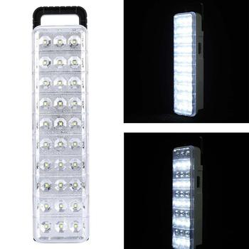 Waterproof 30LED Multi-Function Rechargeable Emergy Light Flashlight Mini 60 LED Emergency Light Lamp For Home Camp Outdoor 1