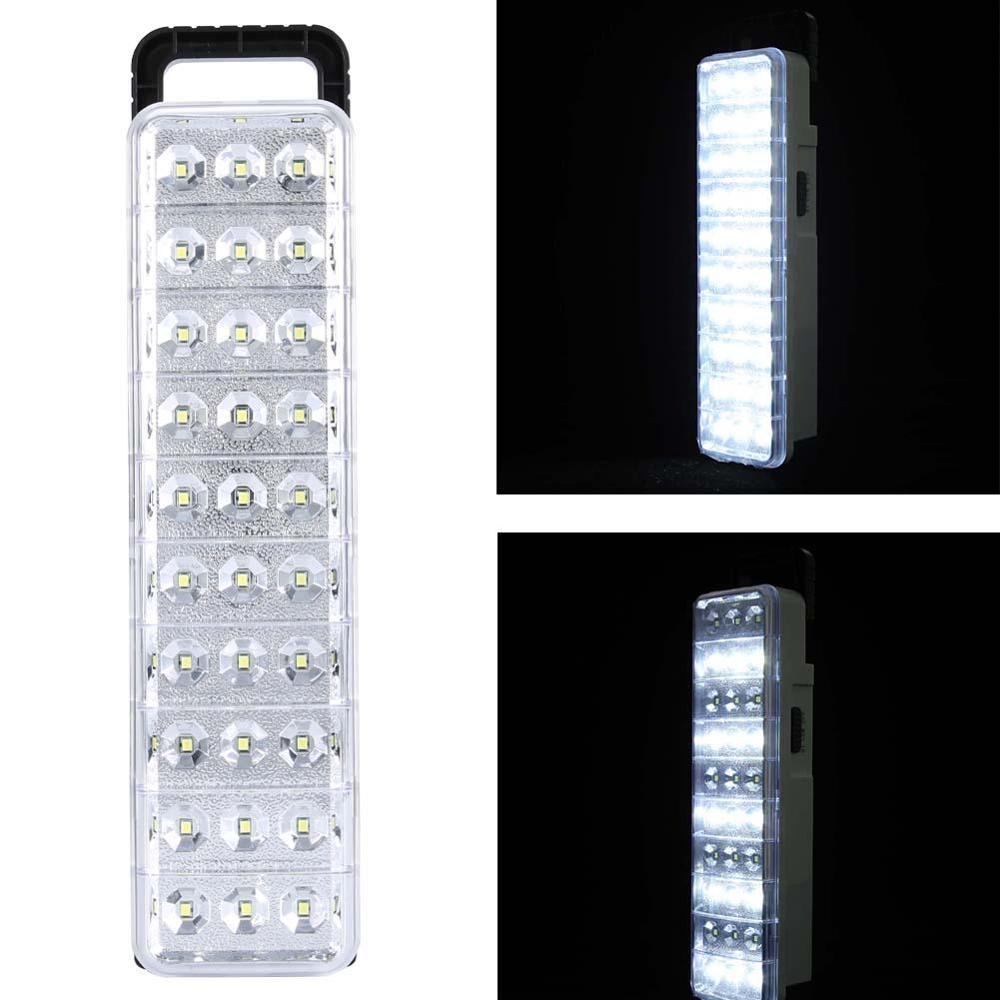 Su geçirmez 30LED çok fonksiyonlu şarj edilebilir enerji ışık el feneri Mini 60 LED acil durum ışık lamba ev kamp açık