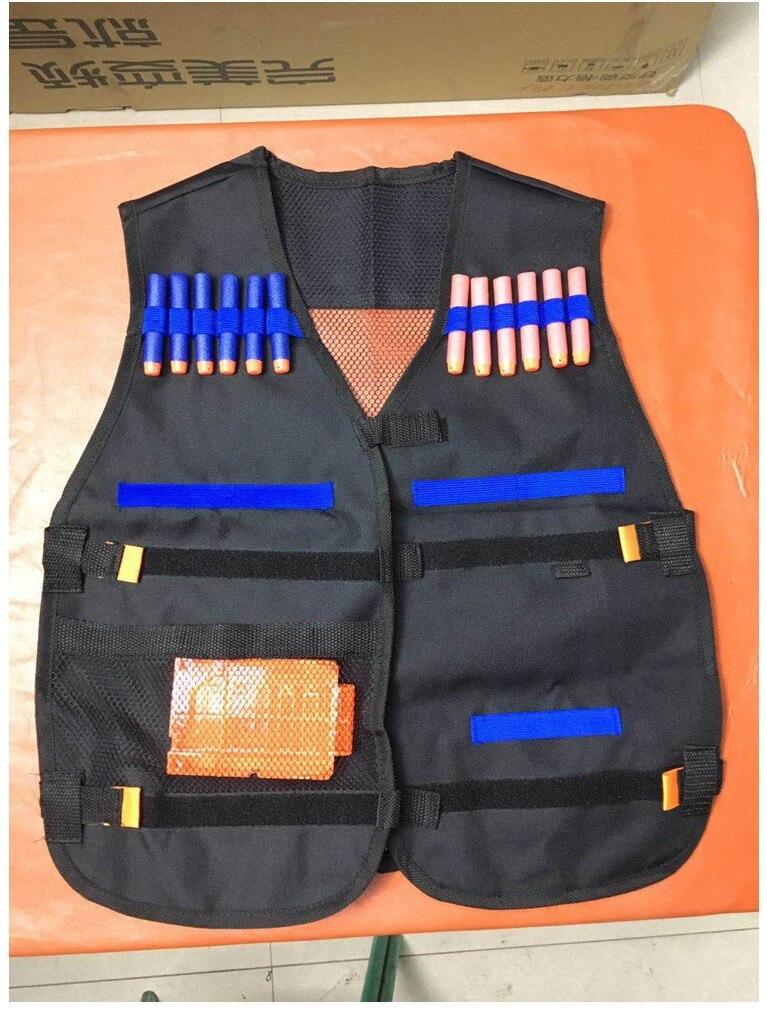 Children Tactical Vest Equipment Nerf Gun Attack Elite Series Nerf Accessories Set