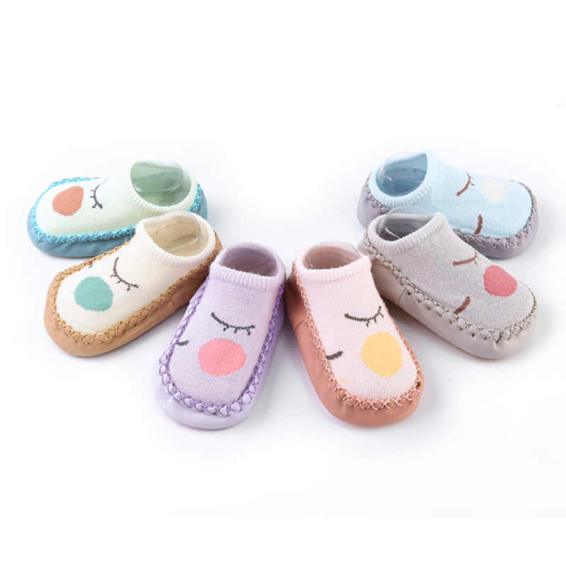Baby Shoes Cartoon Animal Baby Girls Boys Anti-Slip Socks Slipper Soft Comfortable Casual Shoes Boots Infant Baby First Walkers