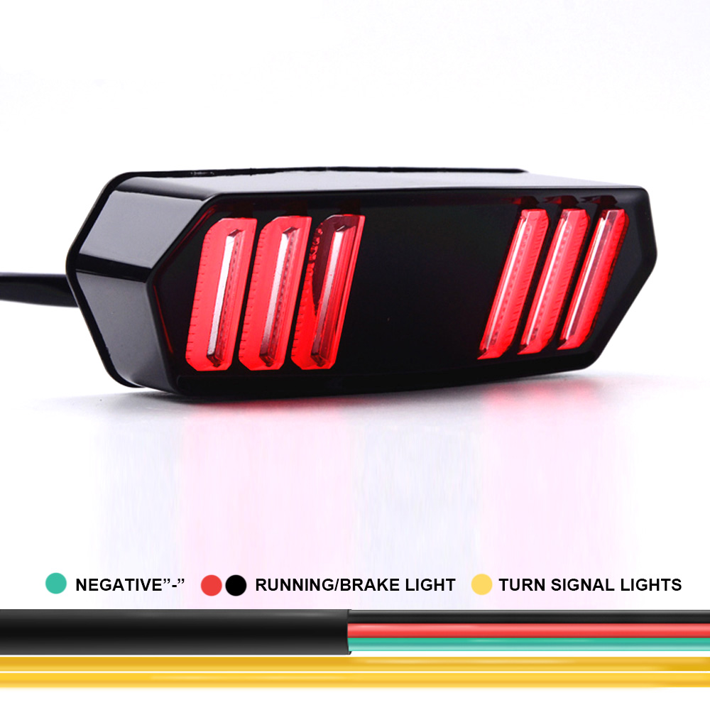 lowest price Motorcycle Rear Tail LED Brake Turn Signal Flashing Parking Light for Honda CB650R CB650 R CB6 50R