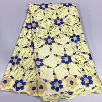 Pure Cotton Design Swiss Voile Laces In Switzerland African Dry Laces Fabrics High Quality Nigerian For Wedding Dresses lc66-760