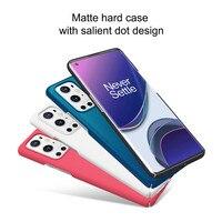 Funda rígida mate para OnePlus 9 Pro, NILLKIN auténtico, protector súper esmerilado
