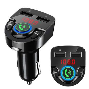G32 Multifunctional Car Charger Bluetooth 5.0 MP3 Music Player FM Transmitter image