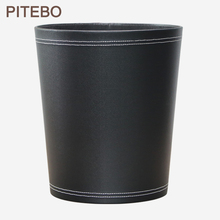 Can Trash-Can Wastepaper-Basket Hotel Living-Room Bathroom Kitchen Circular Office Large-Capacity