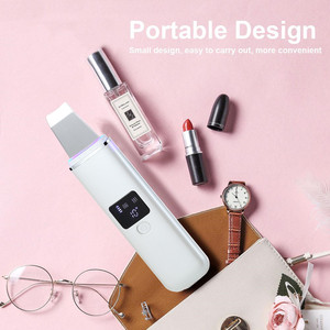 Image 5 - Ultrasonic Face Cleaning Peel Machine Skin Scrubber Blackhead Remover Reduce Wrinkles Spots Facial Whitening Lifting Massager