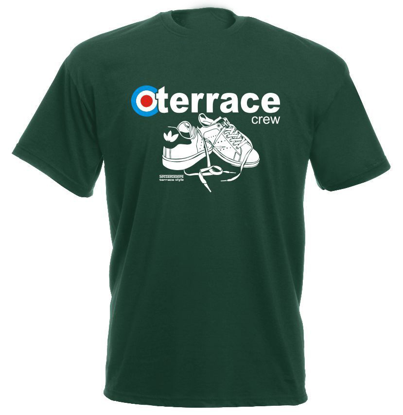 2019 Summer T-Shirts For Men Hot Sale Hot Sale Clothes Terrace 100% Cotton Hooligans Footballer Casual logo Tee Shirts
