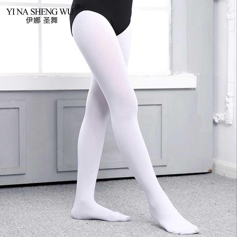 เด็กหญิงบัลเล่ต์เต้นรำ Tights เด็กผู้ใหญ่ไนลอน Leggings ยิมนาสติกเต้นรำ Tutu บัลเล่ต์ Pantyhose 80D 3 คู่ 2 คู่ 1 คู่