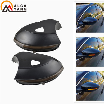 for VW Scirocco MK3 Passat B7 CC EOS Beetle Dynamic Mirror Indicator Blinker Side Mirror LED Turn Signal Light Sequential Light