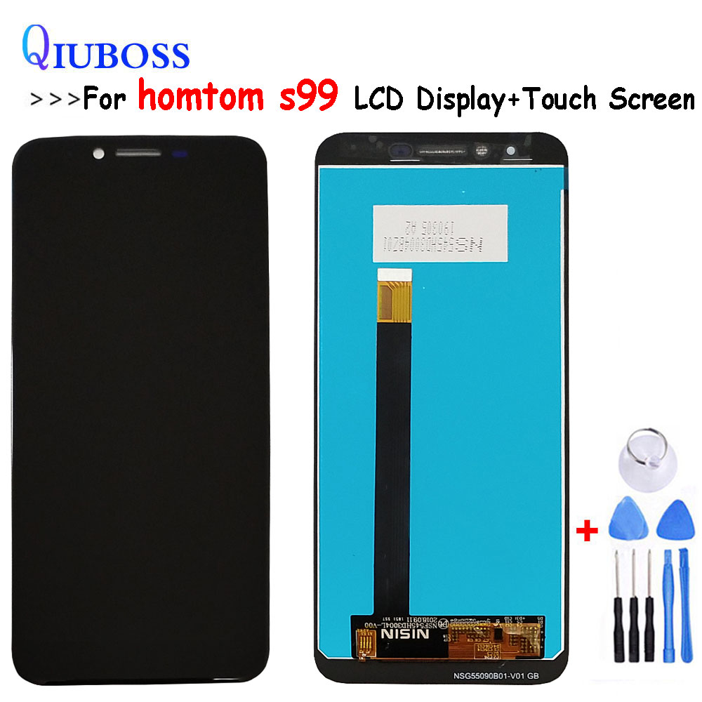 5.5 HOMTOM S99 LCD Display+Touch Screen Digitizer Assembly 100% Original New LCD+Tools(China)
