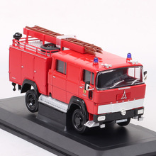 1:43 Scale Road Signature Retro 1965 MAGIRUS DEUTZ 100 D7 FA LF8 TS Fire Engine Car Model Truck Lorry Diecasts & Toy Vehicles
