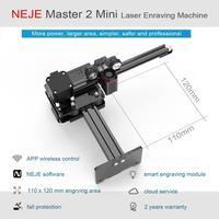 NEJE Master 2 Mini Desktop CNC Wood Router Laser Engraver Cutter Engraving Machine APP Control for Windows, Mac , Android