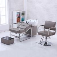 Cadeira de cabeleireiro ferro barbearia cadeira salão de beleza dedicado barbeiro cadeira de levantamento rotativo barbeiro cadeira europeia corte de cabelo cadeira   -