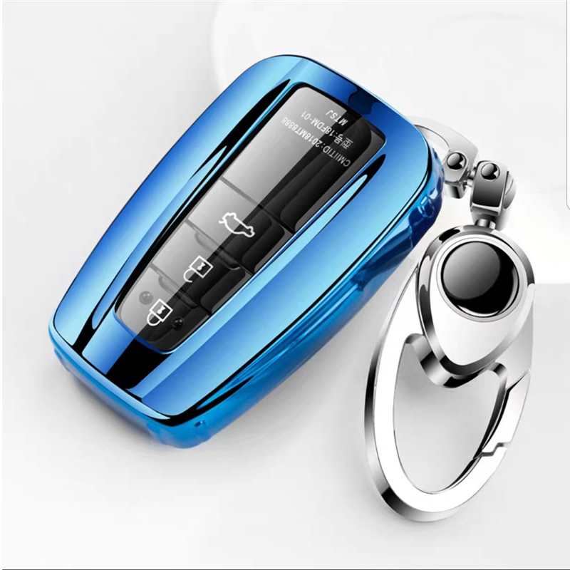 High quality New Soft TPU car key case Full cover For <font><b>Toyota</b></font> Prius Camry Corolla C-HR CHR <font><b>RAV4</b></font> Prado <font><b>2018</b></font> <font><b>Accessories</b></font> keychain image