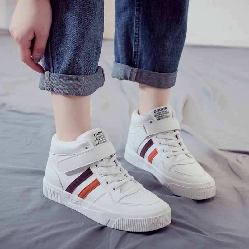 Plush Woman's Shoes Trendy Canvas Shoes Casual Winter New Warm Thick Flats Breathable Sneakers High-Top Women Casual Shoes