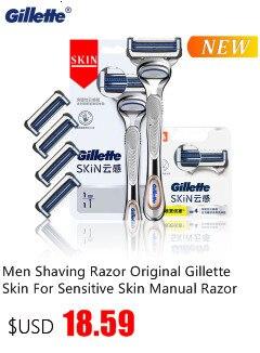 de barbear compatíveis com gillette mach3 turbo sensível