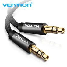 Vention 3.5mm Jack kabel Audio Jack 3.5mm męski na męski kabel Audio Aux do Samsung S10 głośnik samochodowy przewód głośnikowy przewód Aux
