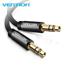 Vention Cable Jack de Audio de 3,5mm para Samsung S10, Cable auxiliar de Audio macho a macho de 3,5mm para altavoces de coche, Línea alámbrica Aux