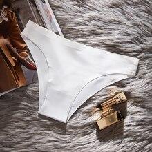 Fashion Seamless panties Hot Sale Women Ultra-thin Underwear Ice-silk Low-waist Sexy Briefs