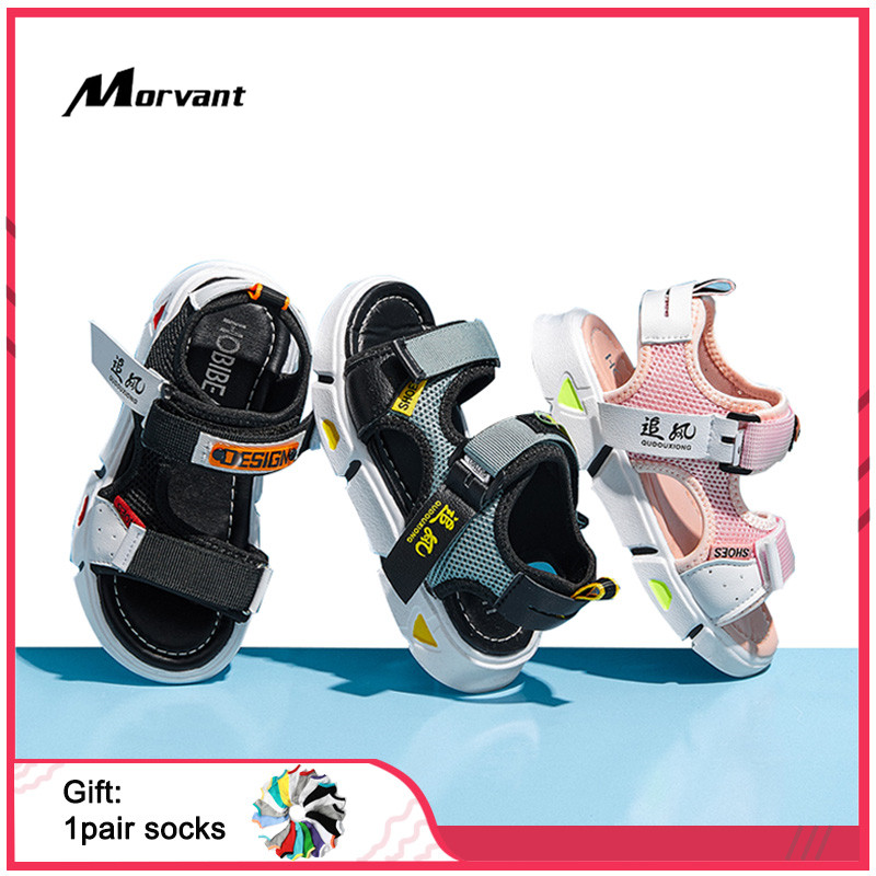 Kids Sandals Summer Breathable Children's Sandals Children Beach Shoes Toddler Sandal 4-12 Years Ourdoor Casual Kids Shoe