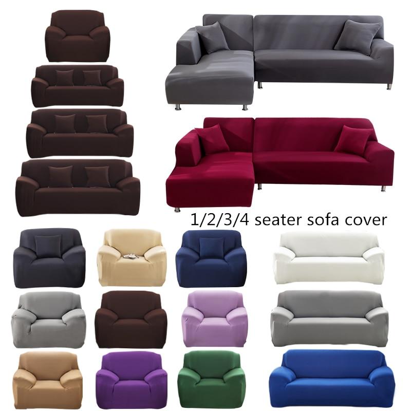 Elastic Sofa Cover Cotton All inclusive Stretch Slipcover Couch Cover Sofa Towel Sofa Cover for Living