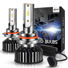 NLpearl 2x 12V 50W 12000lm/pair Mini Led HIR2 9012 Headlight Bulbs H4 H7 H11 H8 H11 9005 9006 H1 H3 H13 9004 9007 Auto Headlamps led car headlight bulb h4 h7 led h11 h1 h27 9005 9007 12v 50w 12000lm led auto lamp for skoda octavia citigo rapid fabia superb