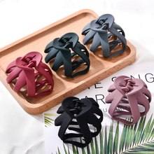 Solid Geometric Hollowing Large Hair Claw Crab Clamp Hair Clip Hair Accessories  Para El Cabello