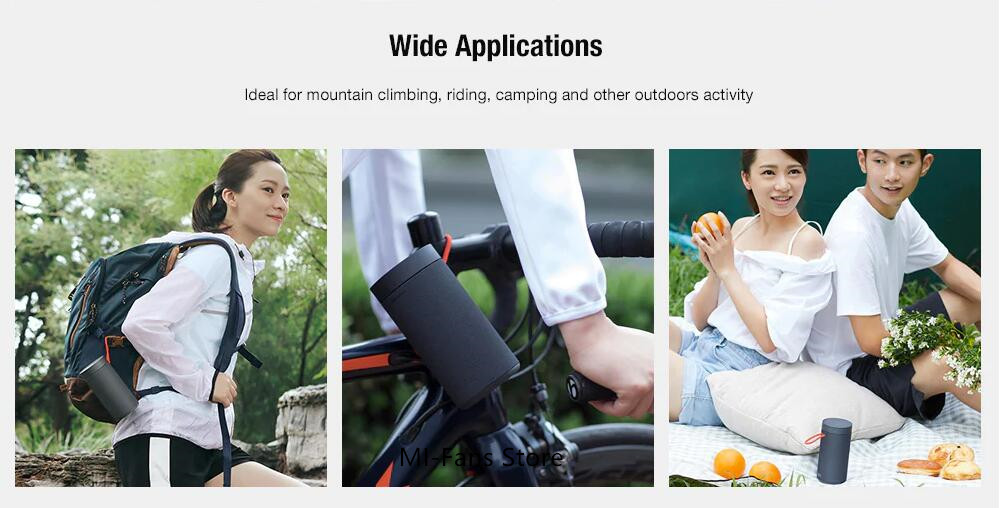 Xiaomi Outdoor Bluetooth speaker Portable Wireless Dual microphone Speaker MP3 Player Stereo Music surround Waterproof Speakers (9)