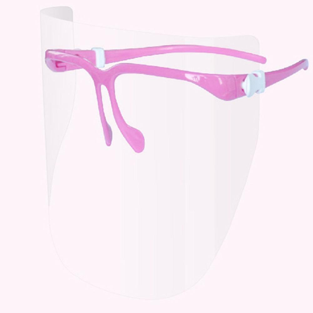 ABS Anti-dust Protective Face Guard Mask Nail Polishing Goggle Manicure Tool Face Shield Mask Plastic