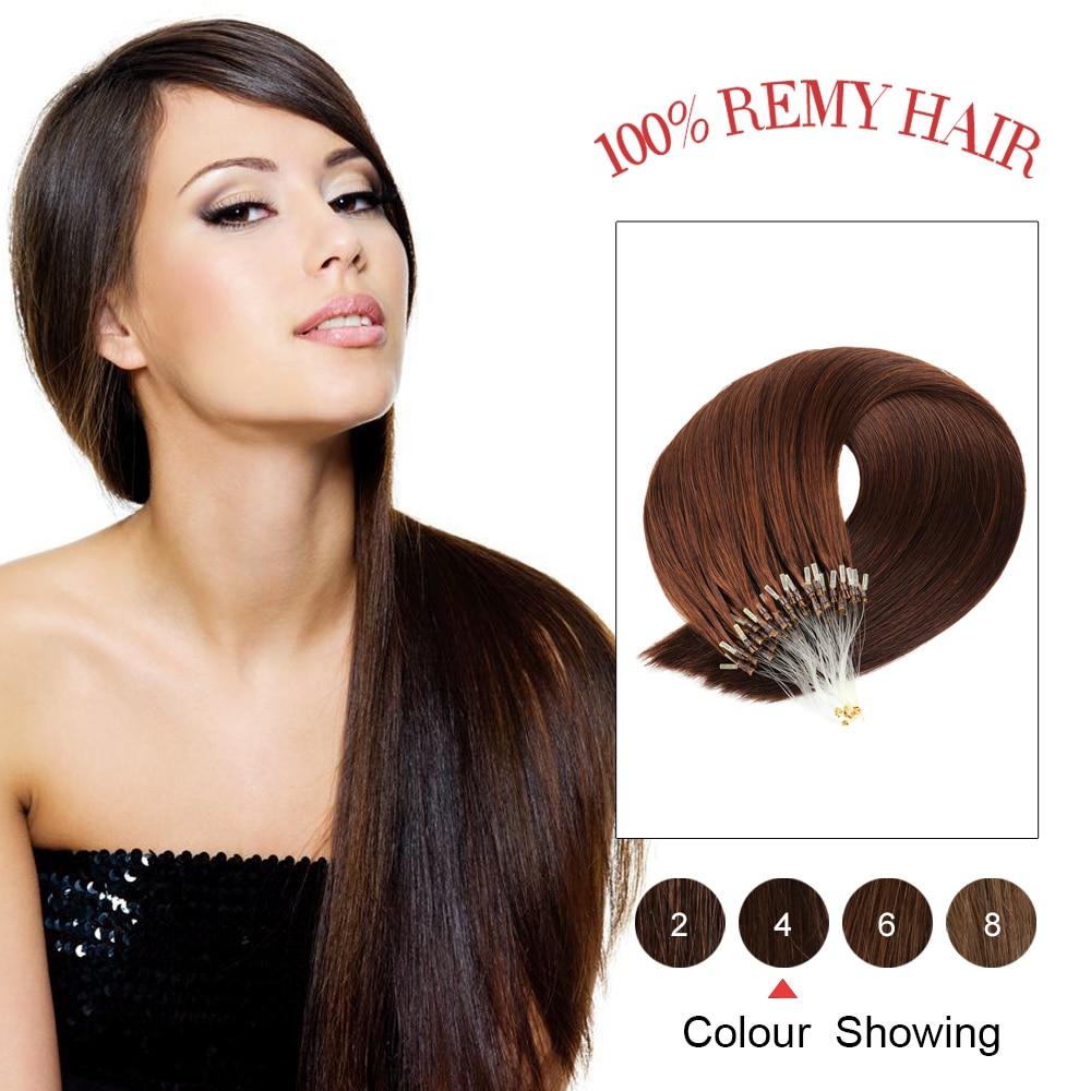 Gazfairy Straight Loop Micro Ring Hair 16