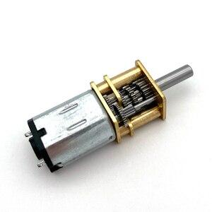 DC 3/6/12V Шестерни мотор 1:1000 высокий крутящий момент Шестерни мотор N20 низкая Скорость двигатель 5-40 об/мин мини-металлическая Электрическая Микро Скорость Шестерни мотор