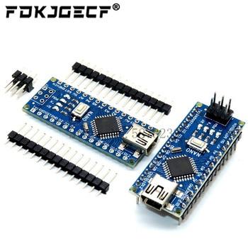 Nano z kontrolerem Nano 3.0 kompatybilnym z bootloaderem dla arduino CH340 dysk USB 16Mhz Nano v3.0 ATMEGA328P z kablem USB