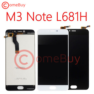 Image 4 - for Meizu M3 Note L681H LCD Display Touch Panel Screen Digitizer Assembly For Meizu L681H Display With Frame Screen Replacement