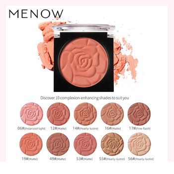 Natural Matte Pearlescent Monochrome Blush Rouge Makeup Blush Powder Palette Imagic Highlighter Blush Face Long-lasting Bb Blush недорого