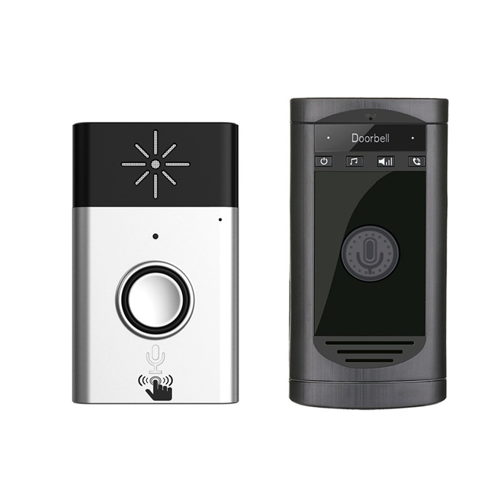 Wireless intercom doorbell paintable corner guards
