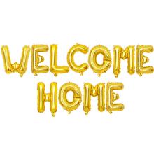 1 zestaw 16 cali różowe złoto zapraszamy do domu z literami z balonów foliowych witamy z powrotem do domowa impreza zaopatrzenie firm nadmuchiwane powietrze globals Decor tanie tanio Partigos CN (pochodzenie) List Owalne ROUND Folia aluminiowa Ślub i Zaręczyny Chrzest chrzciny St Świętego patryka