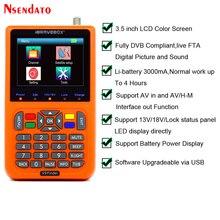 V9 Finder numérique Satellite Finder 3.5 pouces LCD Satellite Finder numérique Satellite Signal Finder mètre Satellite mètre Satellite