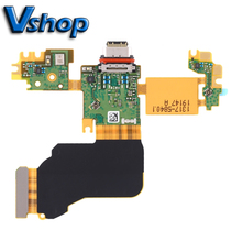 Pour Sony Xperia 1 Port de charge câble flexible + Microphone câble flexible pour Sony Xperia 1 téléphone portable pièces de rechange