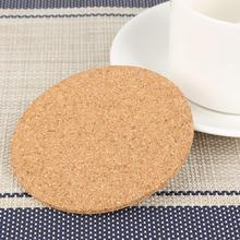 Natural Cork Coaster Durable Pad Heat Resistant Cup Mug Mat Coffee Tea Hot Drink Placemat for Dining Table Kitchen Accessories diy retro lace wool placemat cup coaster tea mug coffee kitchen drink table place mat cloth crochet doilies dining felt pad 21cm