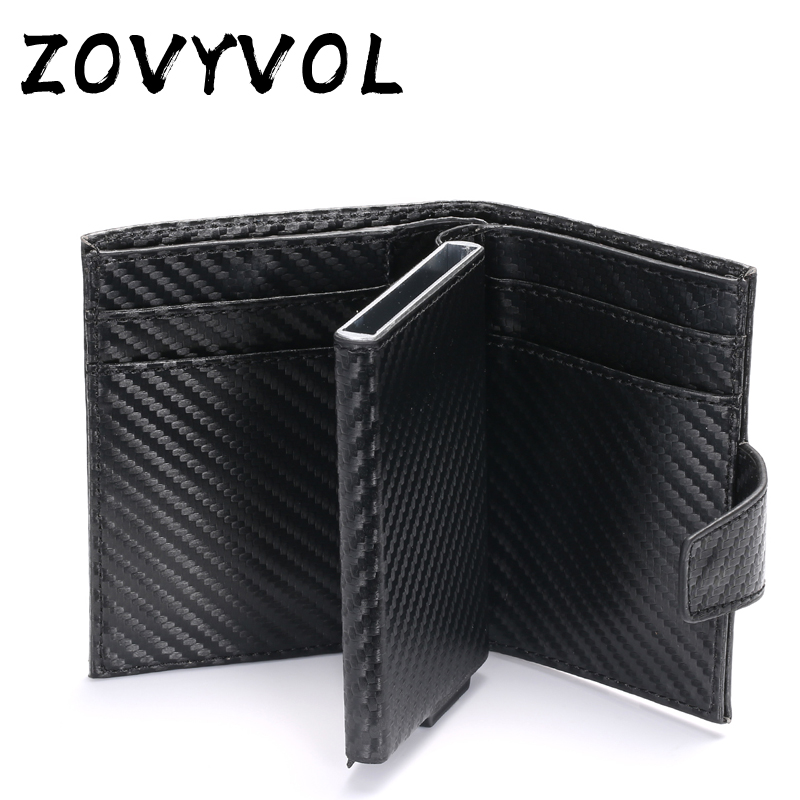 ZOVYVOL Short Smart Male Wallet Money Bag Wallet Leather RFID Wallet Mens Trifold Card Wallet Small Coin Purse Pocket Wallets