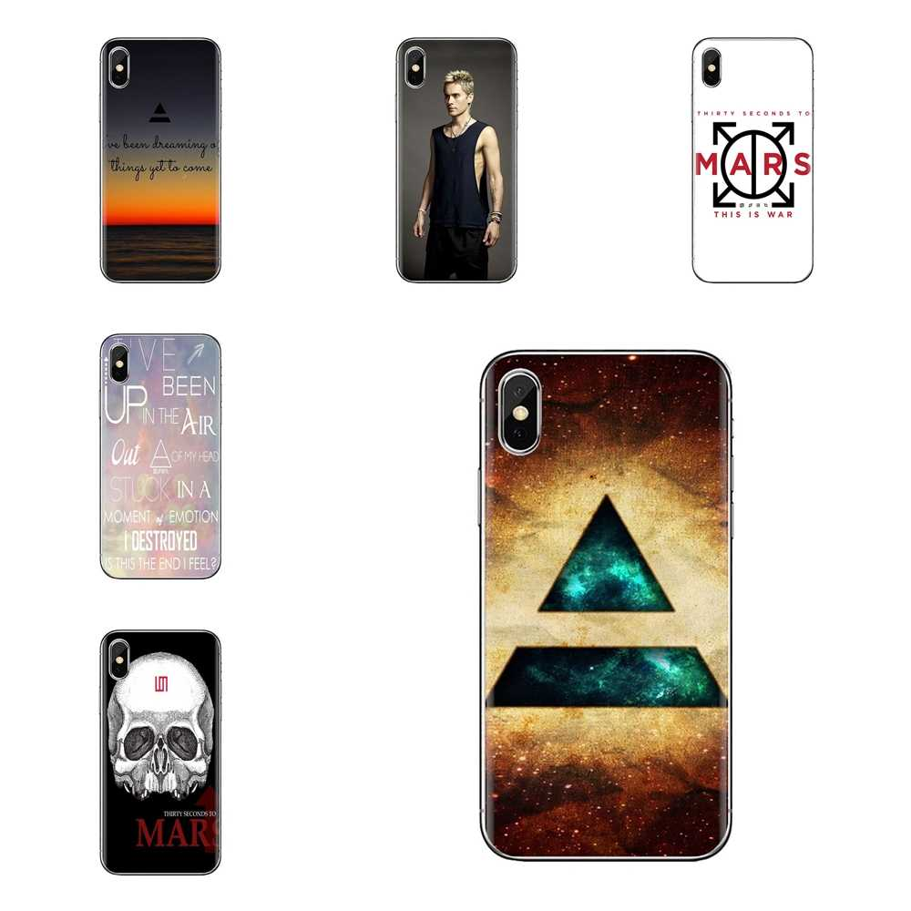 Logement 3HJ 30 Seconds To Mars Jared Leto2 Pour iPhone XS Max XR X 4 4S 5 5S 5C SE 6 6S 7 8 Plus Samsung Galaxy J1 J3 J5 J7 A3 A5