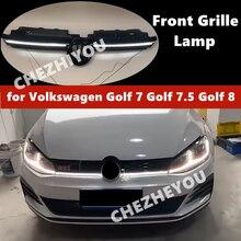 Dla Volkswagen Golf 7 Golf 7.5 Golf 8 GTI przedni grill lampa reflektor przedniego zderzaka Auto modyfikacja akcesoria samochodowe HQ