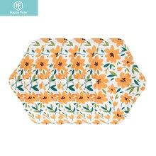 Happyflute 5pcs/set Small Size Washable Comfortable And Environmentally Eco-Friendly Bamboo Charcoal Menstrual Pad Mama Pads