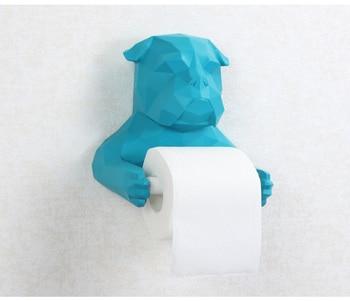 Dérouleur de Papier WC Original - Statuette de Chien