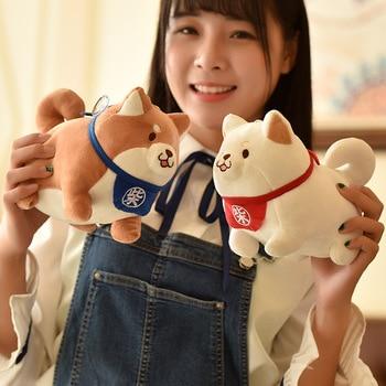 Kawaii Animal Plush Toy Stuffed Fat Shiba Inu Dog Plush Doll For Kids Cartoon Pillow Lovely Toy Children Gift недорого