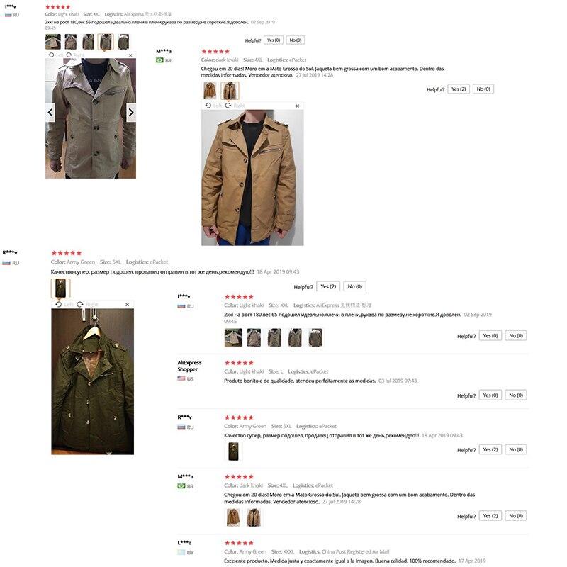H89f300e3125c48db9cfb51ff1f4eb338U HCXY 2019 Autumn winter Fashion Men's Windbreaker warm Men Jackets thick Jacket Full cotton Plus velvet Coat Male 5XL
