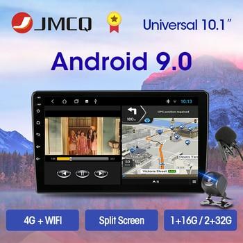 2 Din Android 9.0 2G+32G 4G+WiFi 10.1 Inch Car Radio Multimedia Video Player 2Din Navigation GPS DSP FM for Nissan Kia Honda VW