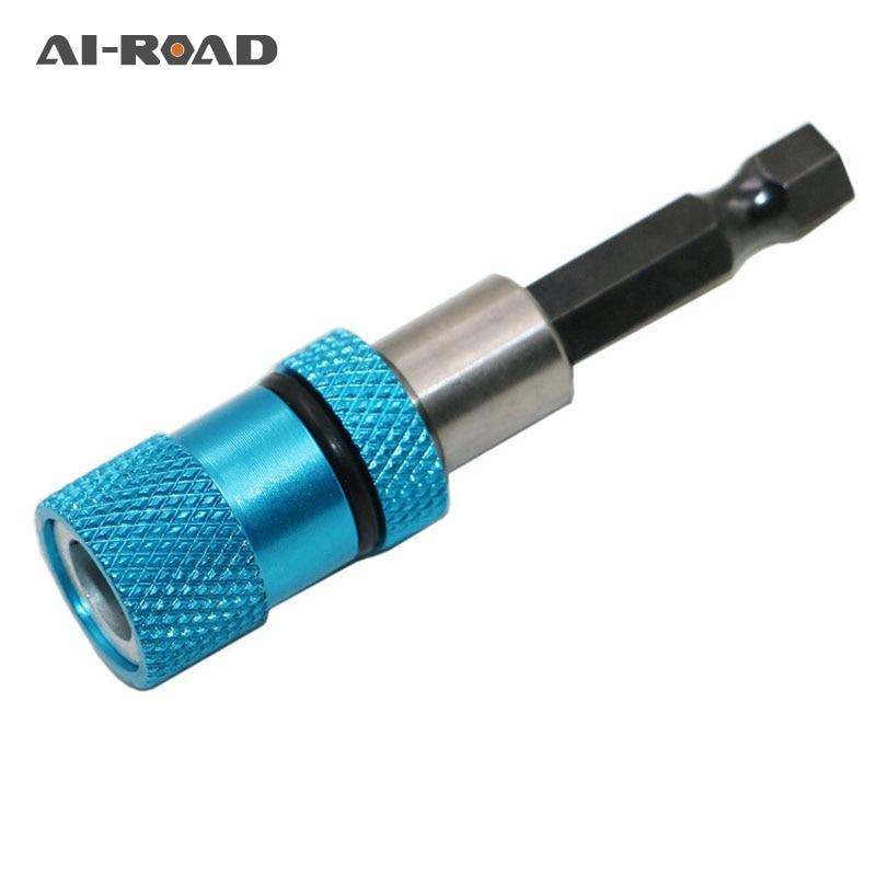 1Pcs Hex Shank Magnetic Drywall Screw Bit Holder Drill Screw Tool 1/4