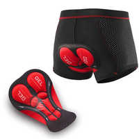 2020 Upgrade Cycling Underwear Pro 5D Gel Pad Mountain Bike MTB Shorts Shockproof Road Bicycle Underpants Downhill Shorts